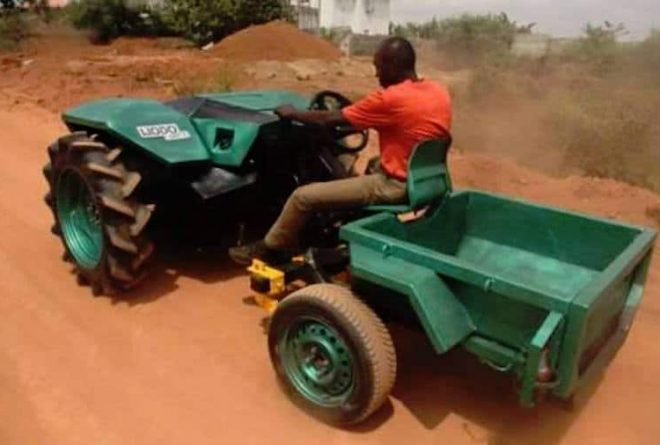 Nigerian engineer to launch first locally designed and built tractor