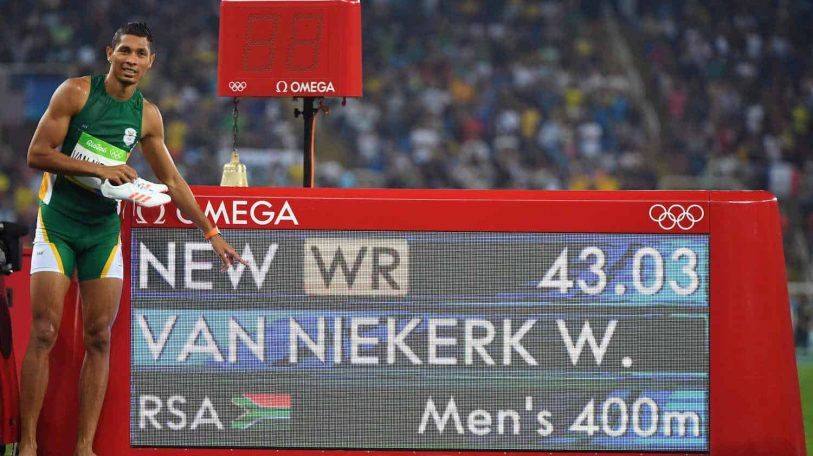 Social media reacts to Wayde van Niekerk's 400m gold and world record
