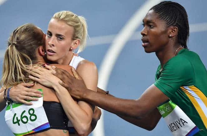 Twitter reacts to Lynsey Sharp's controversial comment after Semenya's victory