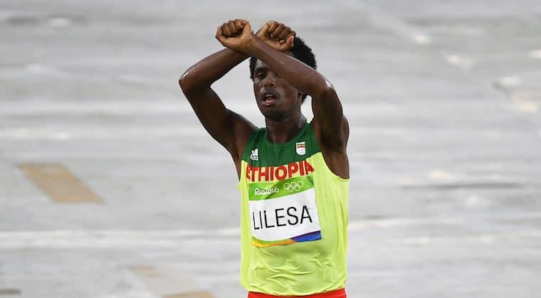 Crowdfunding initiative raises $86,150 for Ethiopian silver-medallist Lilesa
