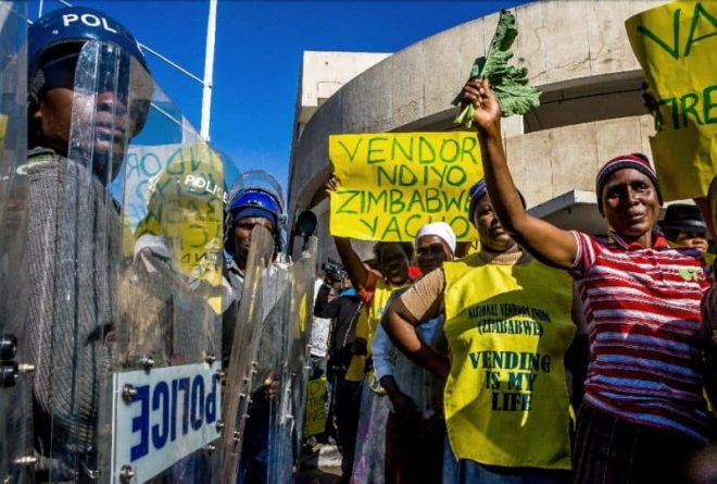 Women's labour and civil disobedience in Zimbabwe