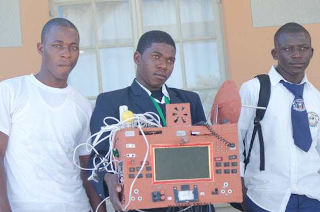 Namibian learner invents SIM-free mobile phone, which doesn't use airtime