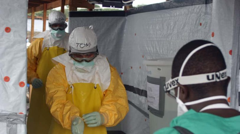The fight to save Ebola survivors