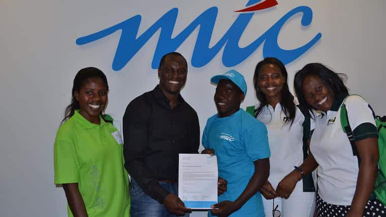 Learner who invented SIM-free mobile phone, gets scholarship from mobile telecoms firm