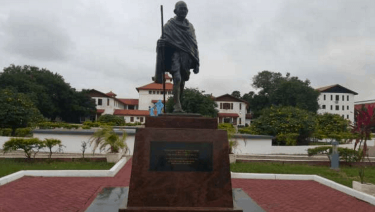 "Woke alert: ""Gandhi Must Fall"" campaign gathers steam in Ghana"