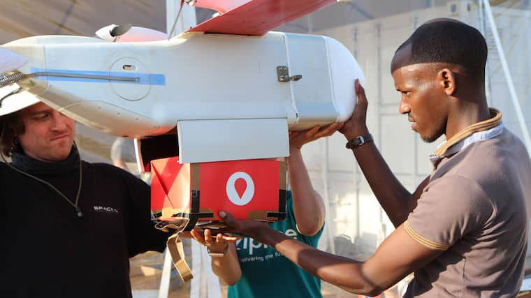 A tech milestone as Rwanda starts using drones to deliver blood products