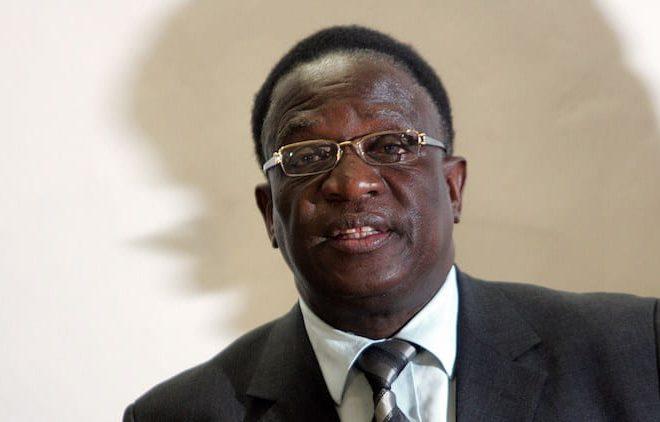 Mnangagwa is Mugabe
