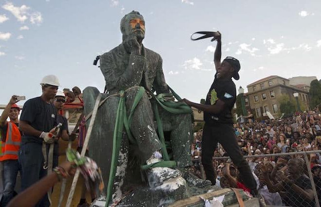 Rhodes Falls: Rhodes statue to be permanently removed from the University of Cape Town campus