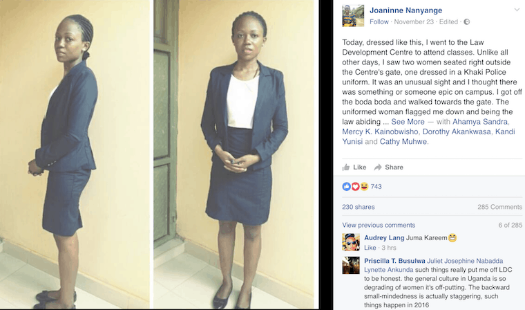 Uganda: Policing how women dress, what defines appropriate or decent dress code?