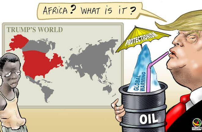 Cartoon: What does a Donald Trump presidency mean for Africa?