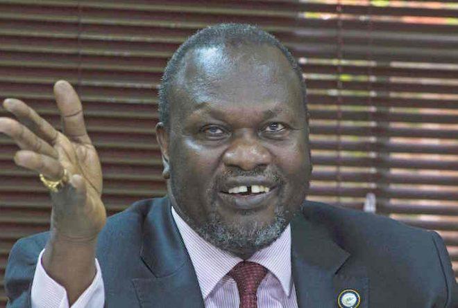 Pretoria places Machar under 'house arrest'