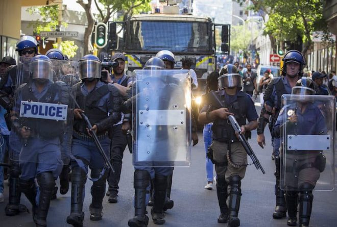 Is South Africa Reverting to a Repressive State?