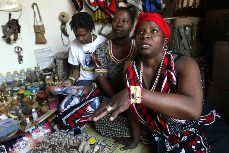 SAFRICA-HEALTH-LAW-SANGOMA