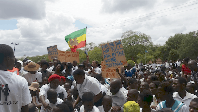 Malawians participate in protest marches against abortion and homosexuality