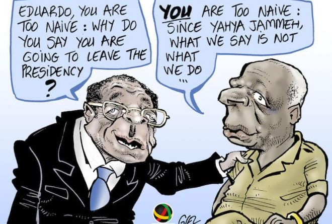 Poles apart? A tale of two African strongmen