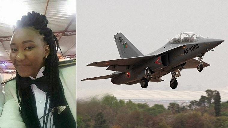 Meet Second Lieutenant Thokozile Muwamba, Zambia's first female fighter pilot