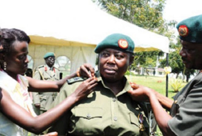 Meet Proscovia Nalweyiso, appointed Uganda's first female Major General