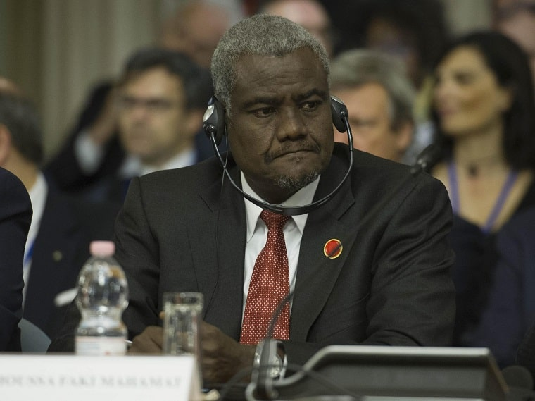 Minister for Foreign Affairs and African Integration of Chad, Moussa Faki Mahamat,