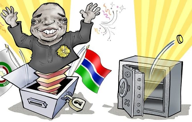 Cartoon: The Gambia- Dawn of a new era