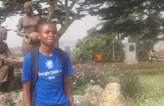 Cameroon: Meet Nji Collins Gbah, first African to win Google Code-in competition