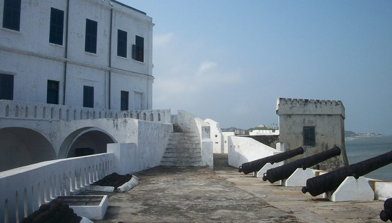 "Tracing the history of Ghana's Cape Coast Castle and infamous ""door of no return"""