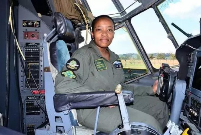 South Africa: First Black Woman Commander of a Military Cargo Plane