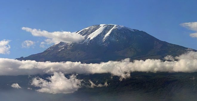 Greeting from the Kilimanjaro Summit
