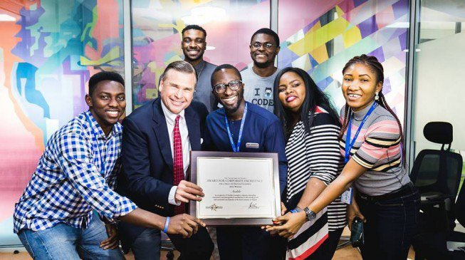 Nigeria: Andela receives U.S. Secretary of State Award for Corporate Excellence
