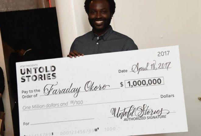 Nigerian filmmaker Faraday Okoro wins $1 million to produce film