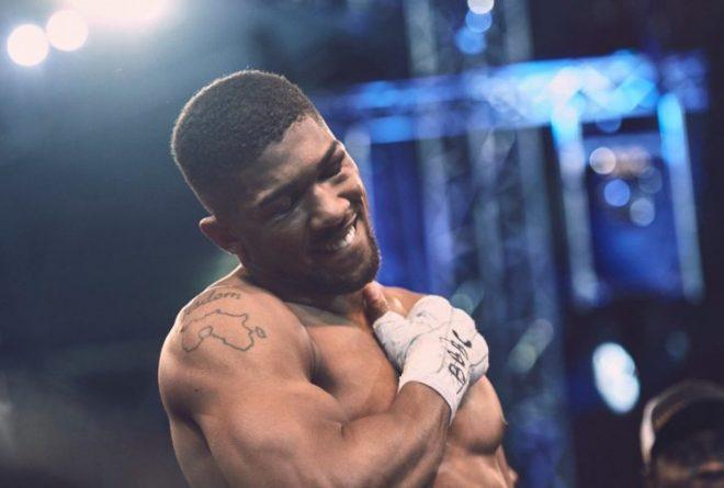 The world's new heavyweight champion: Anthony Oluwafemi Joshua