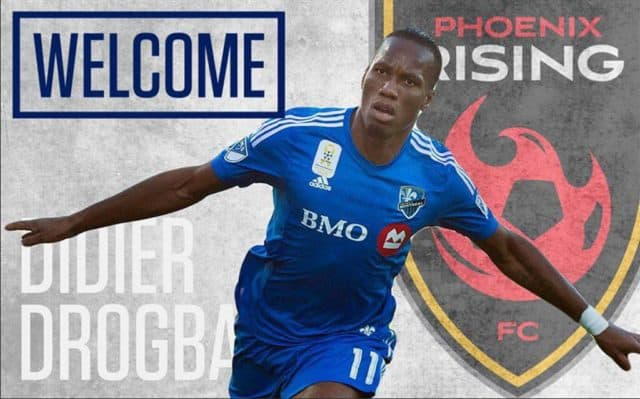 Didier Drogba becomes first player and co-owner of a US Club Phoenix Rising