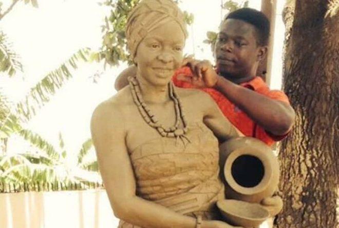 Ghana: Meet sculptor Kumi Samuel whose work has won the hearts of many