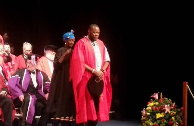 Rhodes University PhD graduate Hleze Kunju writes thesis in isiXhosa
