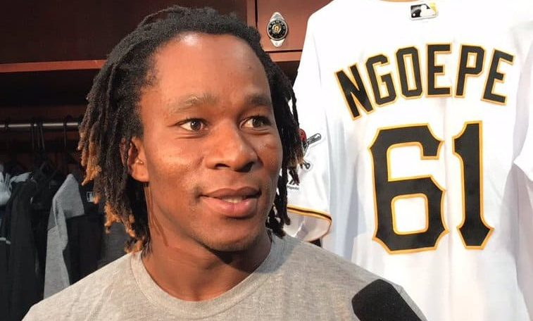 Gift Ngoepe: First Africa-born player in Major League Baseball