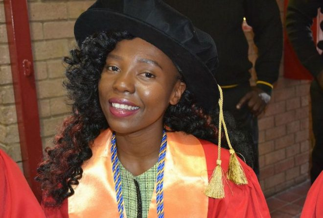 Meet Musa Saurombe Africa's youngest female PhD graduate