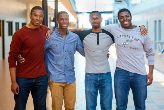 Meet quadruplets who were accepted into Ivy League universities
