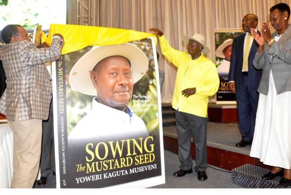 Uganda: Museveni donates his autobiography – 'Sowing the Mustard Seed' to schools