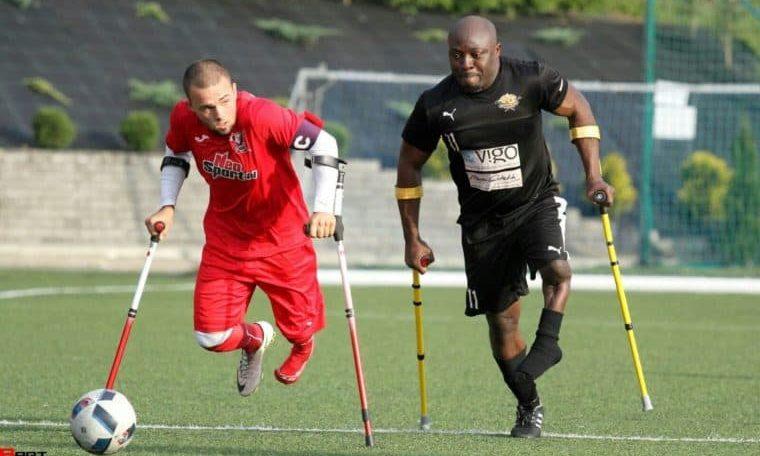 Bamgbopa Abayomi Alabi: Nigeria's first amputee footballer in Europe