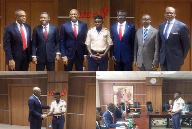 Nigerian security guard Ogbanago rewarded with over $15,000 after returning $10,000
