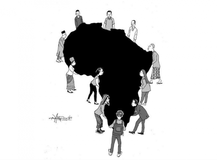 Africa Day: Youth participation, the power is in our hands. Cartoon credit: Tony Namate/This is Africa