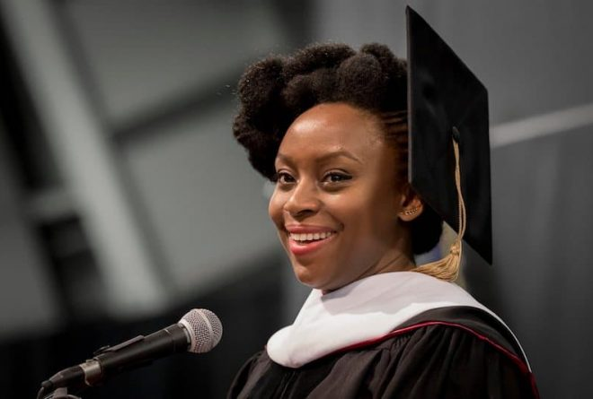 Chimamanda Adichie awarded Doctor of Letters by the University of Edinburgh