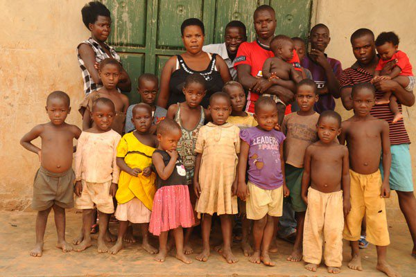 Meet 37 year-old Ugandan mother who has given birth to 38 children