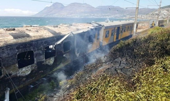 Why South Africans burn their trains