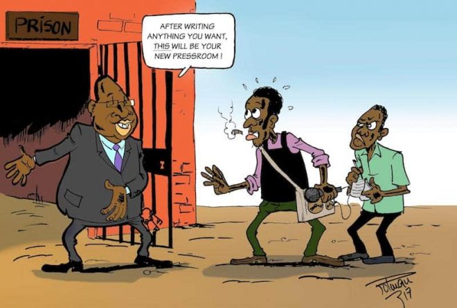 Harassment of journalists across Africa a concern
