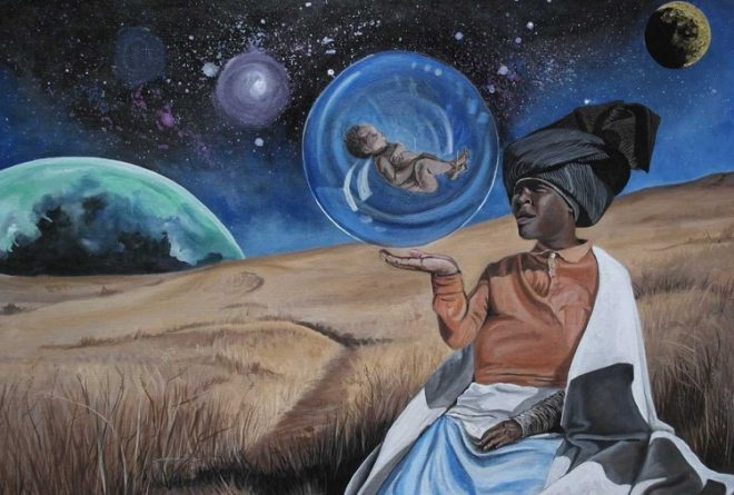 Qhama Maswana: Painting the African Heritage and Cultures