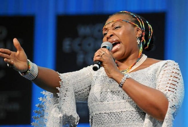 Yvonne Chaka Chaka wins International Global Good Star and Power Award at the 2017 International BET Awards