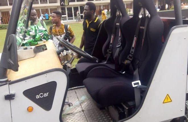 Ghana:  KNUST builds solar powered vehicle
