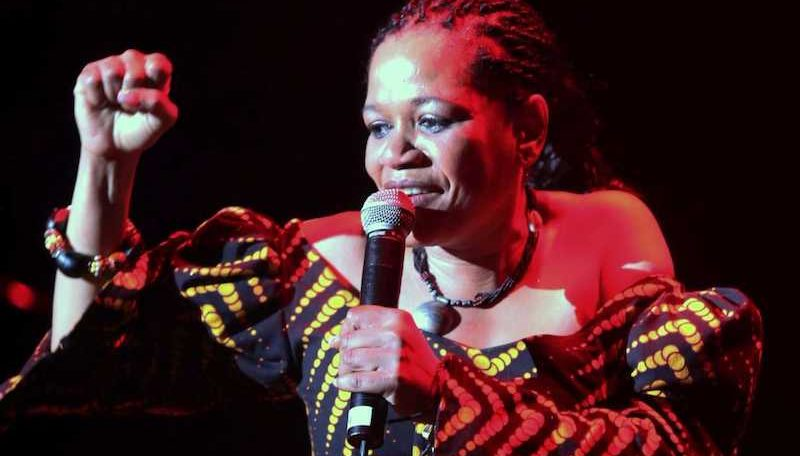 Review: Zenzi Makeba Lee and Afrika Mkhize join forces at the Standard Bank Jazz Festival