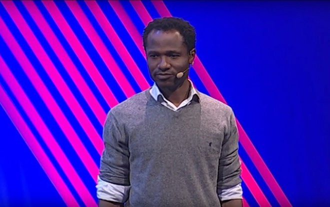 Nigerian innovator Oshi Agabi reveals computer which can smell explosives