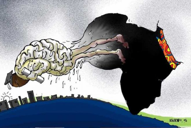 The extent of Africa's brain drain worrying